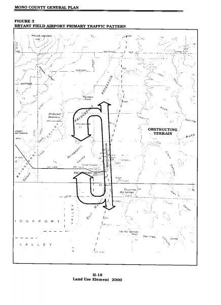 Figure 40 Bryant Field Airport Primary Traffic Pattern Mono New Airport Traffic Pattern