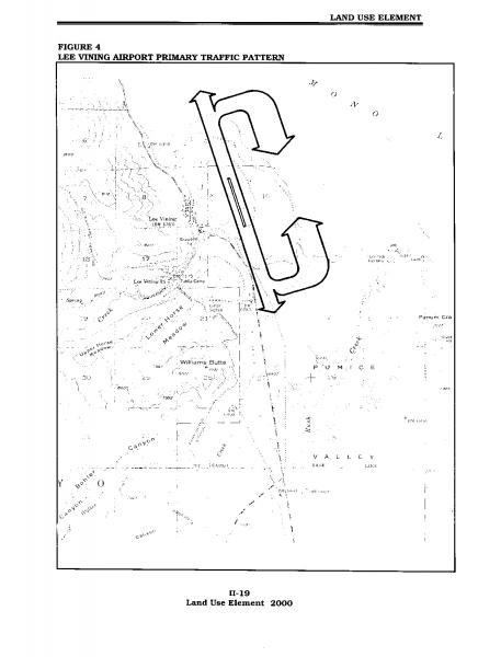 Figure 40 Lee Vining Airport Primary Traffic Pattern Mono County Beauteous Airport Traffic Pattern