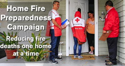 Red Cross Home Fire Campaign