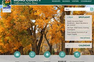 Mono County Website image